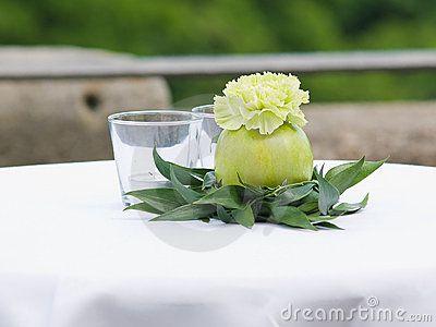 Wedding table decoration by Sasoykc, via Dreamstime