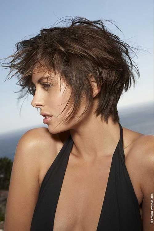 Short Layered Messy Haircuts For Women Short Textured Haircuts Short Messy Haircuts Messy Short Hair
