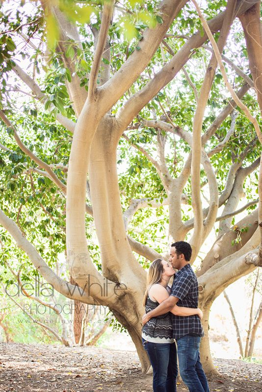 Ucr Botanic Gardens Engagement Session Oak Trees C Della White Photography Riverside Weddings Orange County Wedding Photographer Wedding Southern California