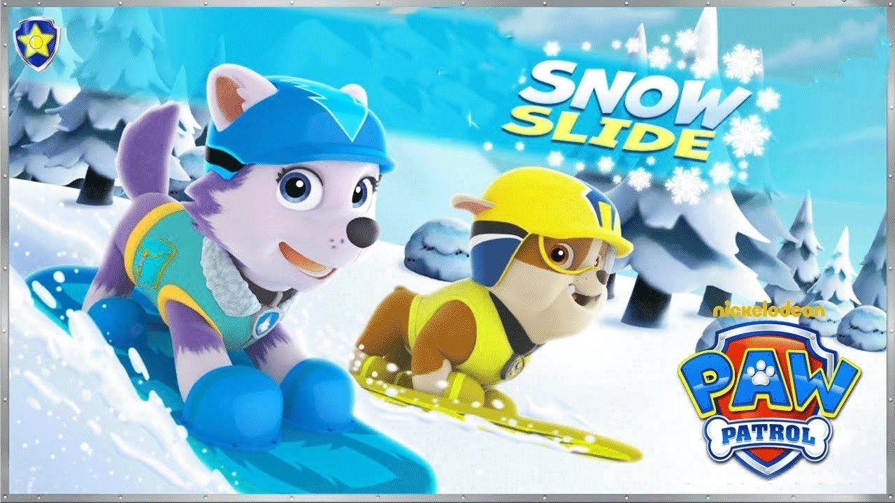 Quatang Gallery- Paw Patrol Games Snow Slide Cartoon Gameplay Game For Kids Juegos Juegos Online Patrulla Canina