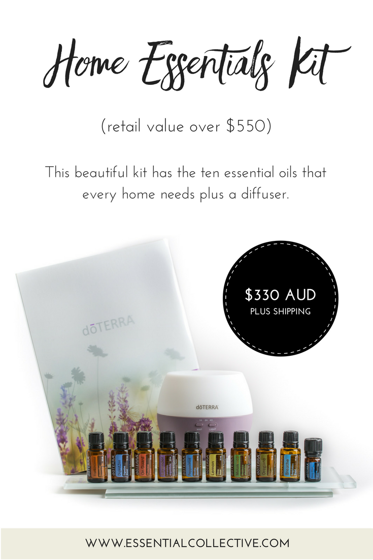 doTERRA Home Essentials Kit - includes ten essential oils that every home  needs