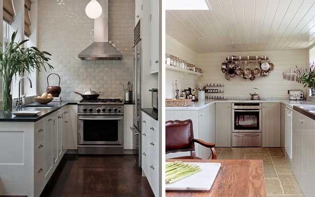 Distribucion de cocinas en u cocinas en u pinterest - Ejemplos cocinas pequenas ...