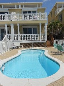 Summer Weeks Available Deluxe 5 Bedroom 5 Bath Gulf Front Home With Pool Silver Sands Beach Beach House Rental Pool Houses Pool