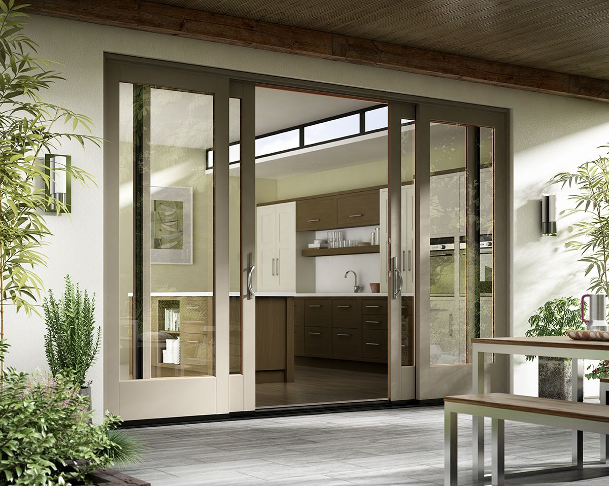 beautiful design smooth operation featured essence series french sliding door - Double Sliding Patio Doors