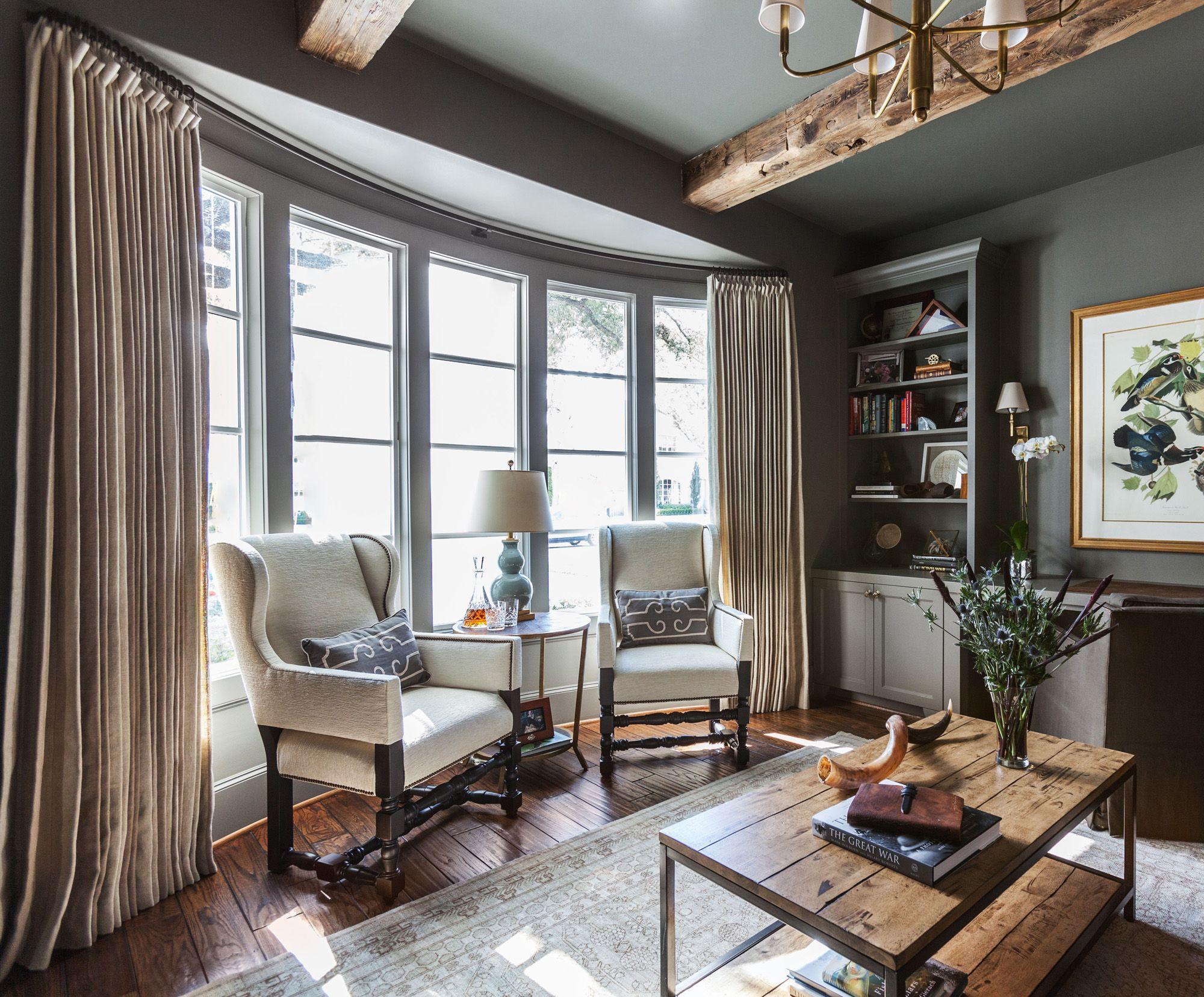 Drapery 101 Designer Draping Living Room Inspiration Designer