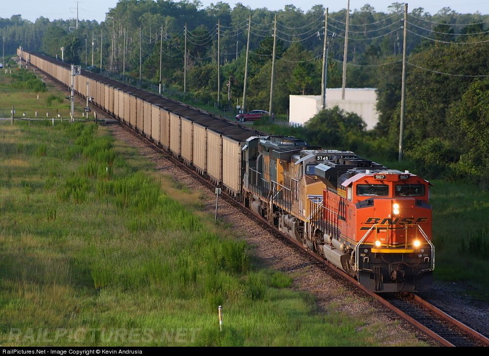 Photo BNSF 9167 BNSF Railway EMD SD70ACe