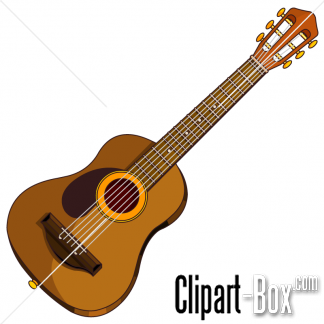Clipart Folk Guitar Royalty Free Vector Design Clip Art Vector Design Music Clips