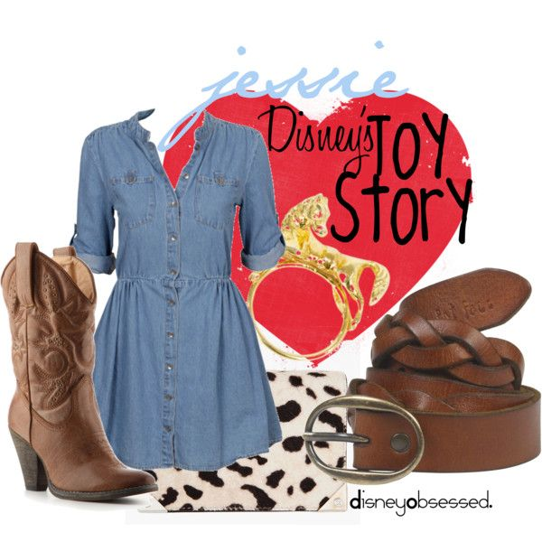 """Toy Story: Jessie"" by disneyobsessed on Polyvore"