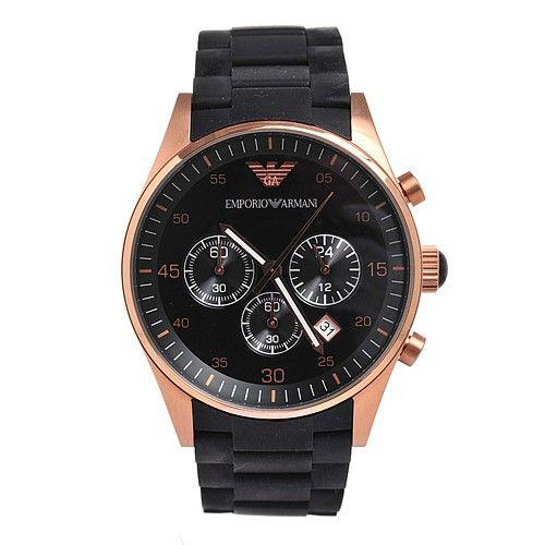 18d4b6ac Emporio Armani AR5906 women's Fashion Black Dial Watch   armani ...