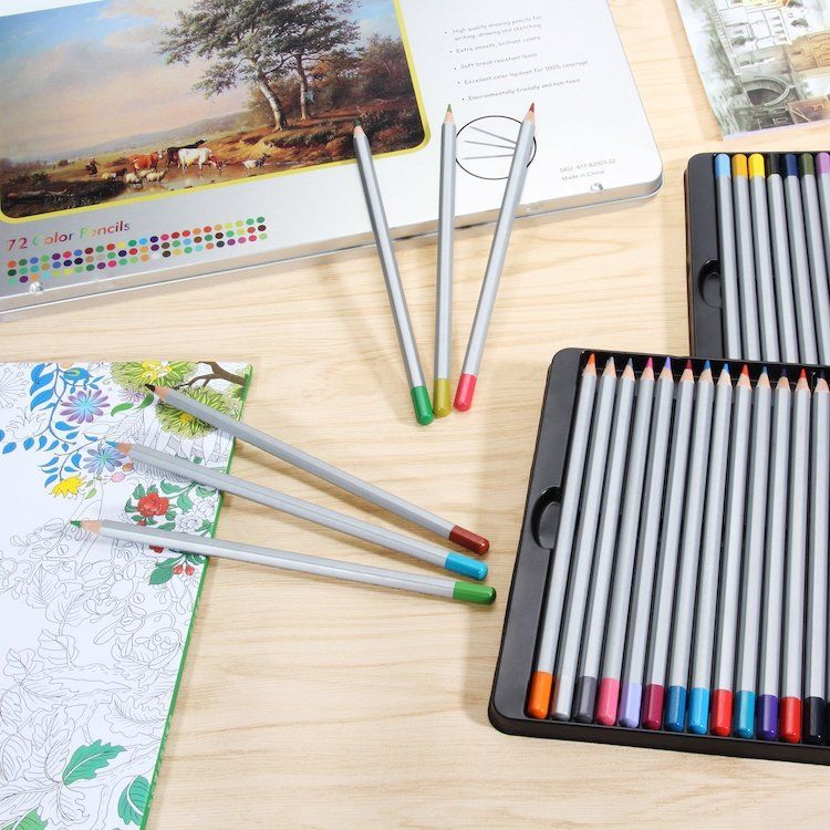 10 Best Colored Pencil Sets For Coloring Book Enthusiasts And