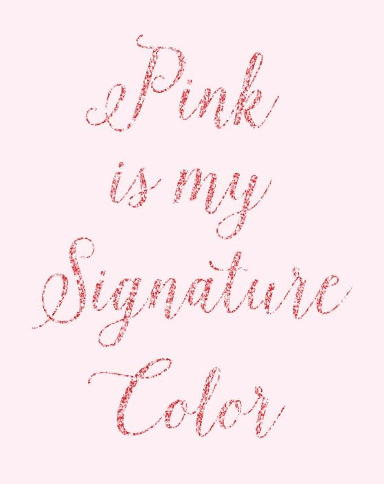 Pin by 𝙼 on A touch of pink | Pink quotes, Quotes, Pink love