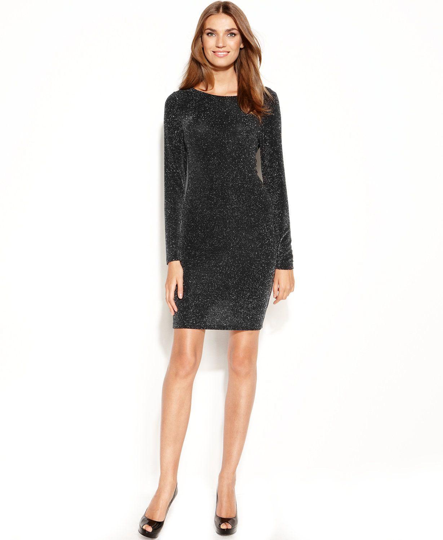 Macys Black Dresses Women