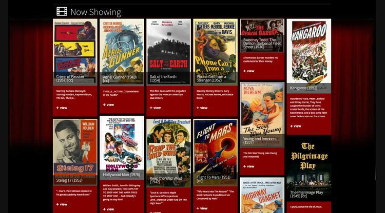 watch classic movies online free streaming