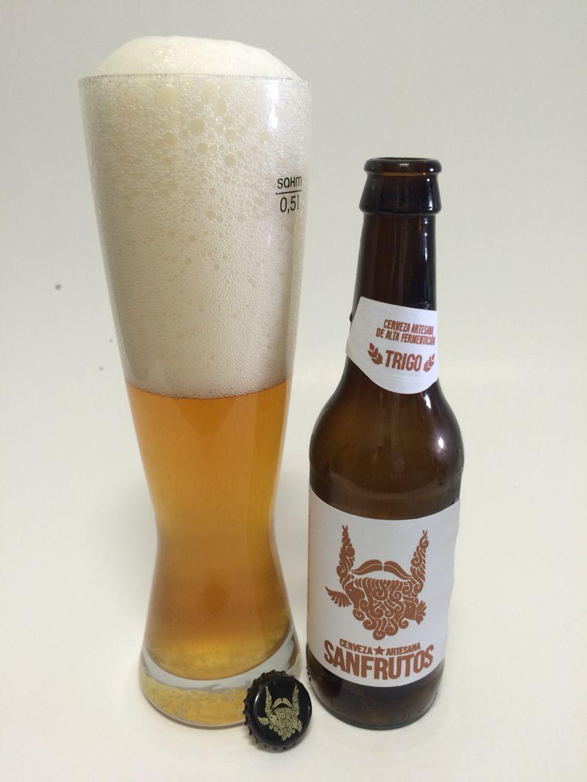 Sanfrutos Trigo Cerveza Artesana de Trigo #CerevezaArtesana #Beer #Cerveza #Segovia