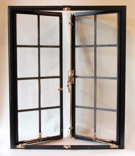 Steel Casement Doors : Seekircher steel window corp restored vintage windows