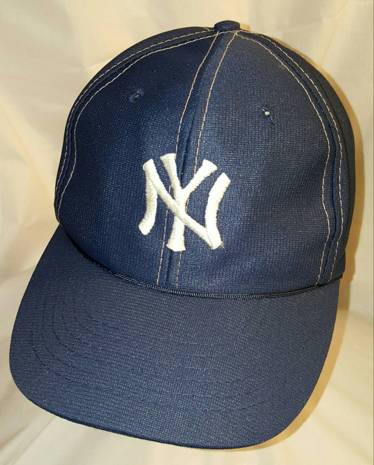 New York Yankees Hat Snapback Cap by ResouledGypsy on Etsy  fd6143f6a68