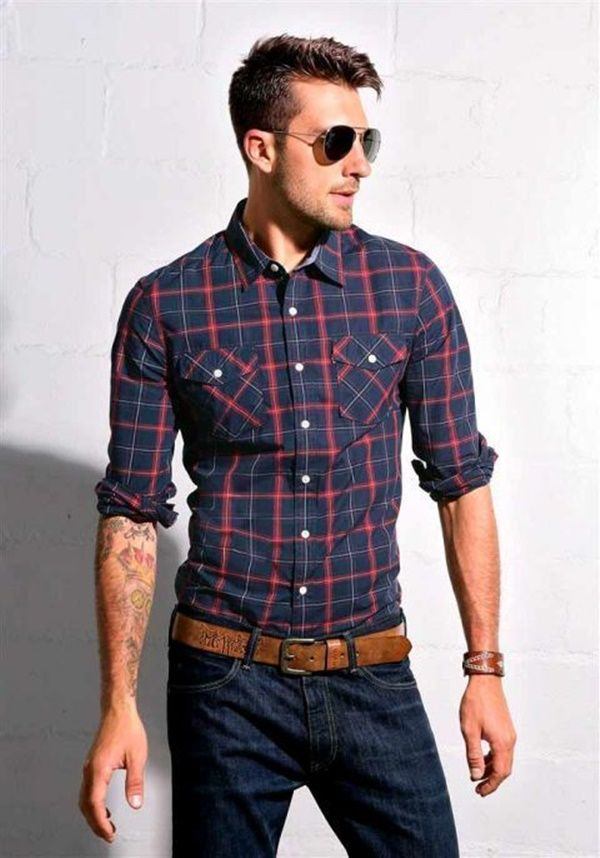 camisa men | street outfit | Pinterest | Camisas, Moda masculina y Ropa