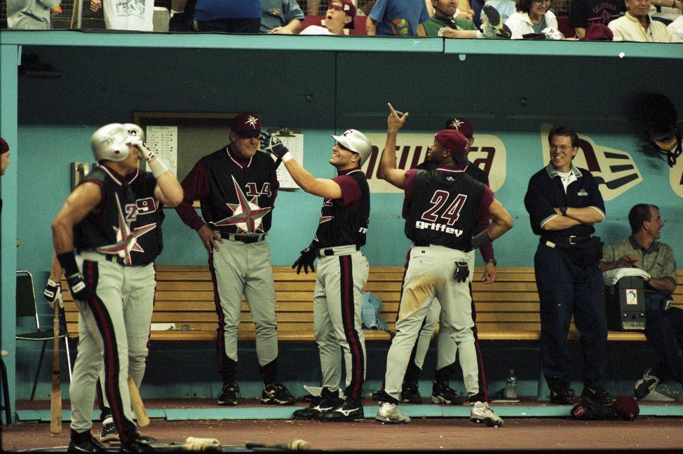 "1998 Seattle Mariners • Turn ""ahead"" the clock night"