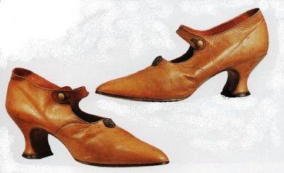 1900 Abotonada1910Moda Con De Tafilete 1950 Zapatos Tirilla IYyvmbf76g
