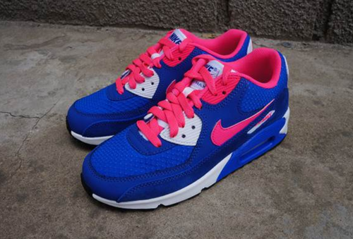 watch e8afb b1e44 Women s Nike Air Max 90 Sneaker Shoes A Jogging Shoes Blue Pink only  US 89.00 - follow me to pick up couopons.