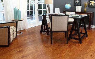 Gunstock Oak Flooring Wood Floor Dining Room Wood Floor Design Grey Walls