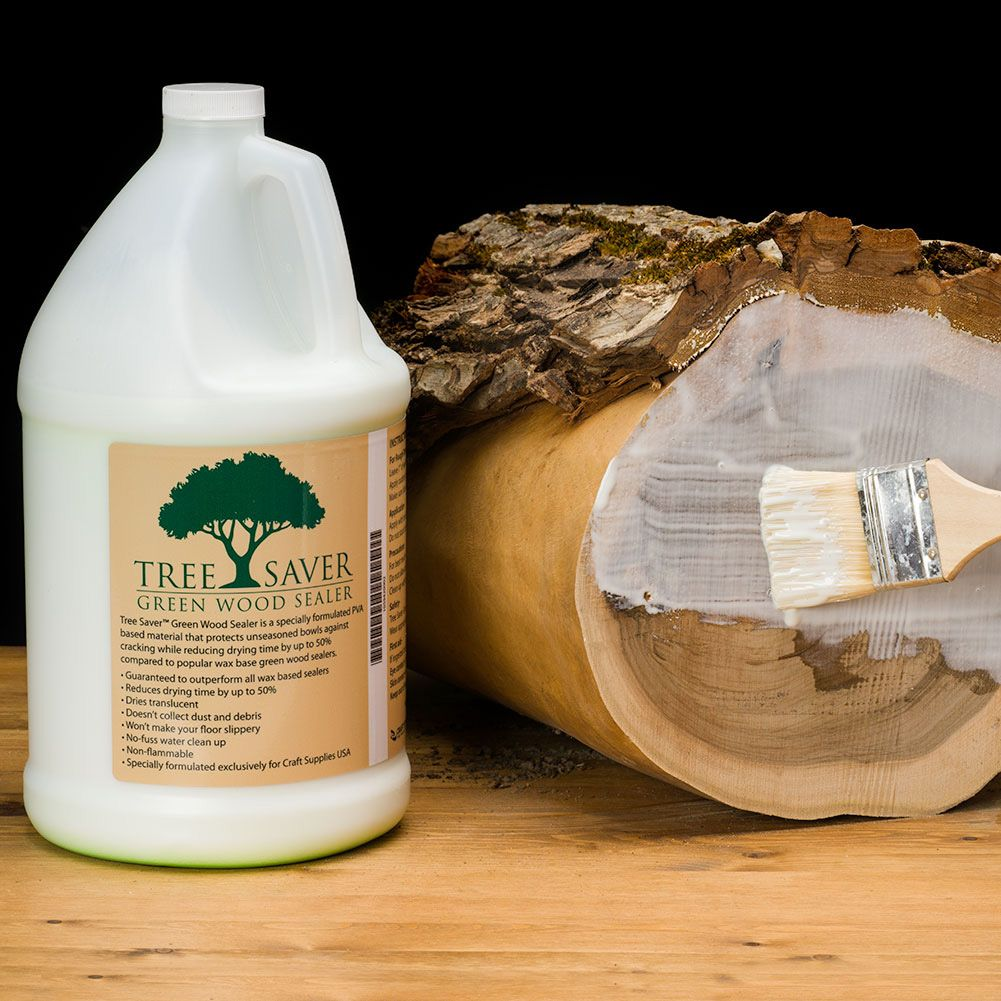 Tree Saver Green Wood Sealer Woodturning Tools And