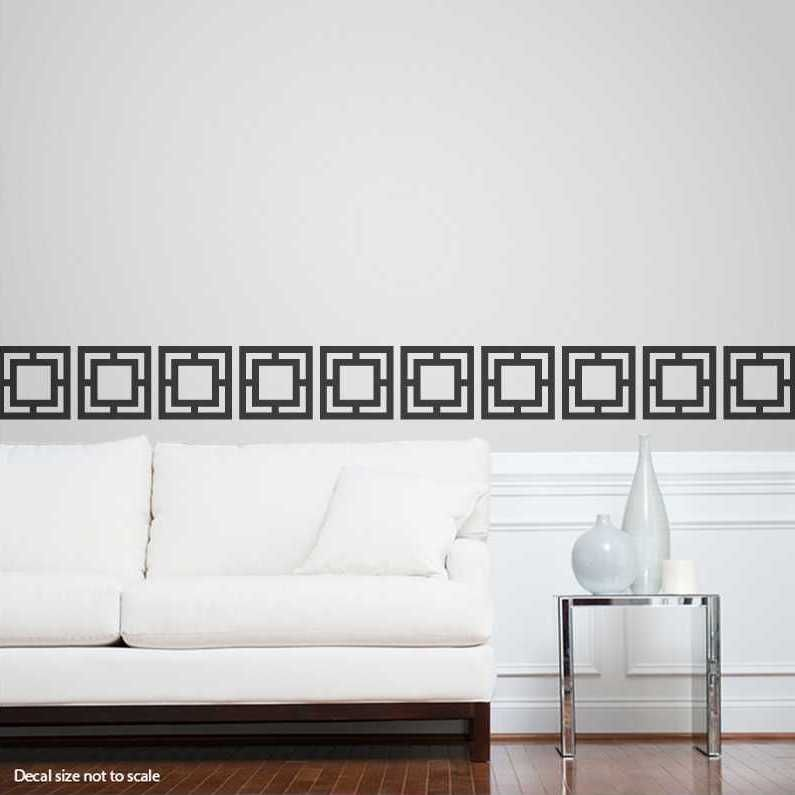 High Quality Geo Tiles Wall Decal