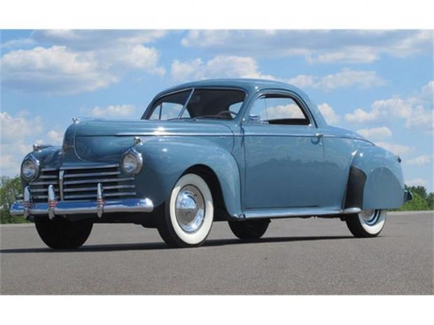 1941 Chrysler Royal. 1941 was the last year this old car