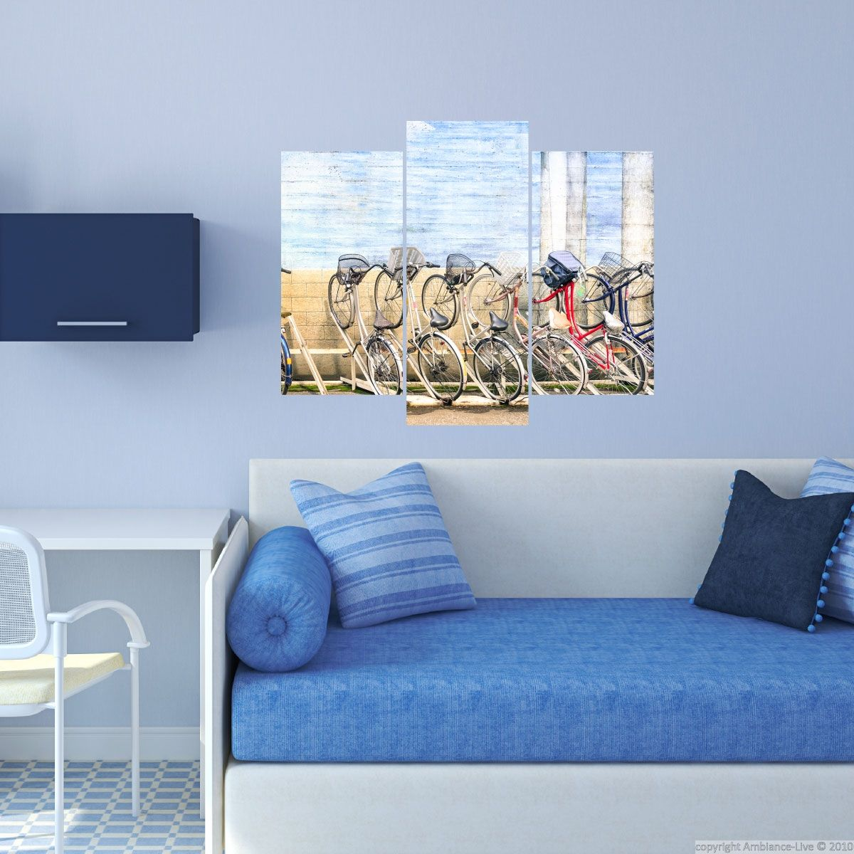 Ambiance Wall Stickers wall decals bikes – wall decals art and design vertical banners