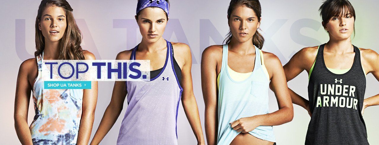 under armour clothing for women