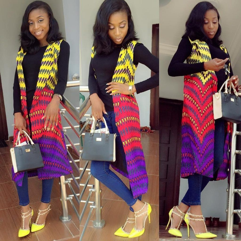 Classic Ankara Jacket Styles For Ladies Ankara Styles Pinterest