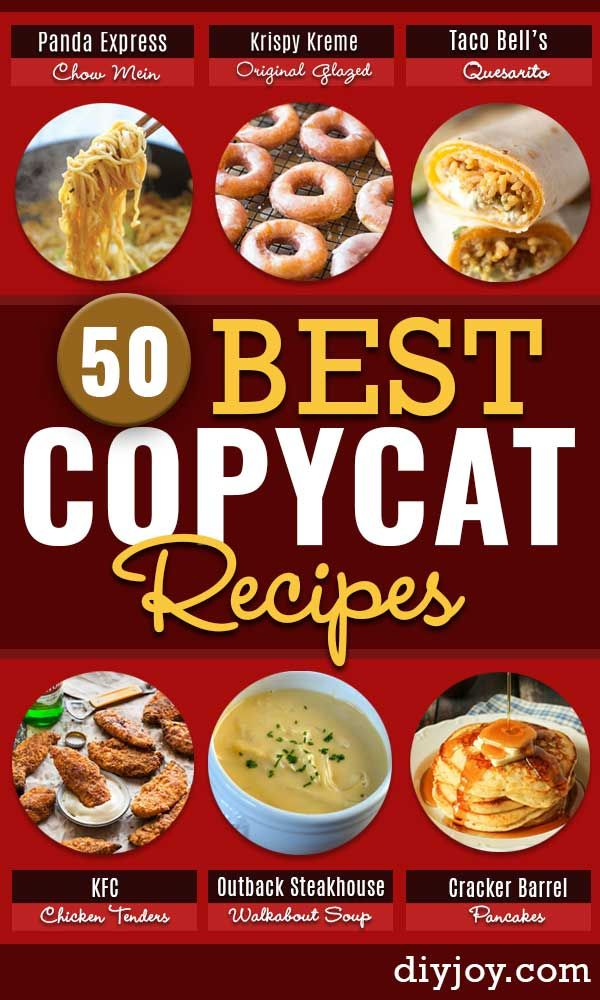 50 Copycat Restaurant Recipes