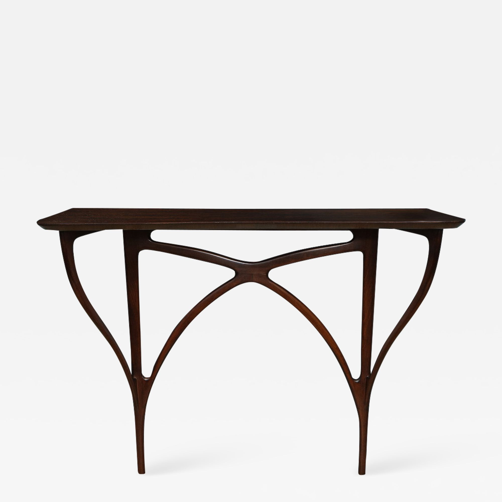 Rare Wall Mounted Console Table By Ico Parisi Console Table Modern Console Tables Table