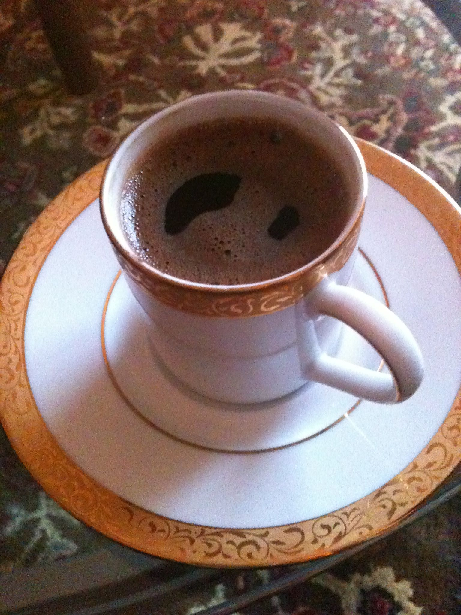 Turkish coffee:)