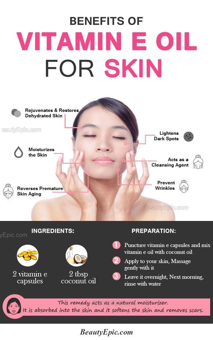 Benefits Of Vitamin E Oil For Skin Skincarecosmeticsimple Benefits Of Vitamin E Oils For Skin Vitamin E Oil