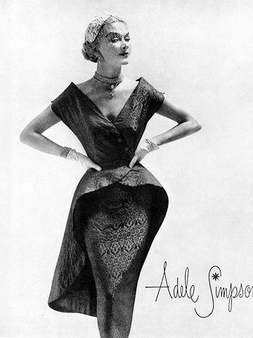 Платье в стиле 50-60-х