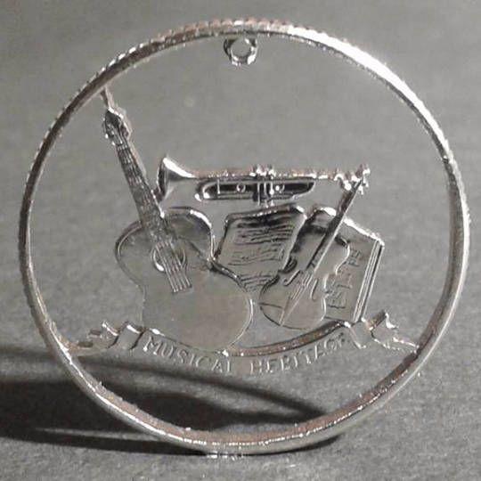 Münzen Schmuck 25 Cent Usa State Quarter Von 2002 Muenzsaegerei