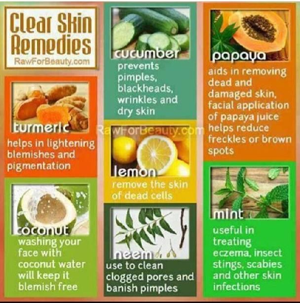CLEAR SKIN Remedies. Any other natural ingredients that have worked for your skin? I can attest to coconut and papaya! - DT ‪#‎skin‬ ‪#‎health‬ ‪#‎wellness‬ ‪#‎bodynomics‬