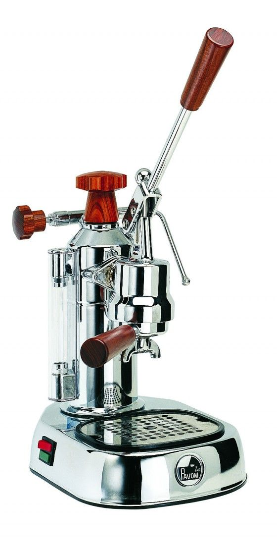 Europiccola ELH by La Pavoni. I don't know how to work a manual espresso machine but for this, I'd learn!