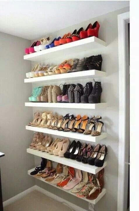 separation shoes 31fe1 b5bdb Ideas para organizar zapatos