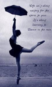 Dance in the rain!