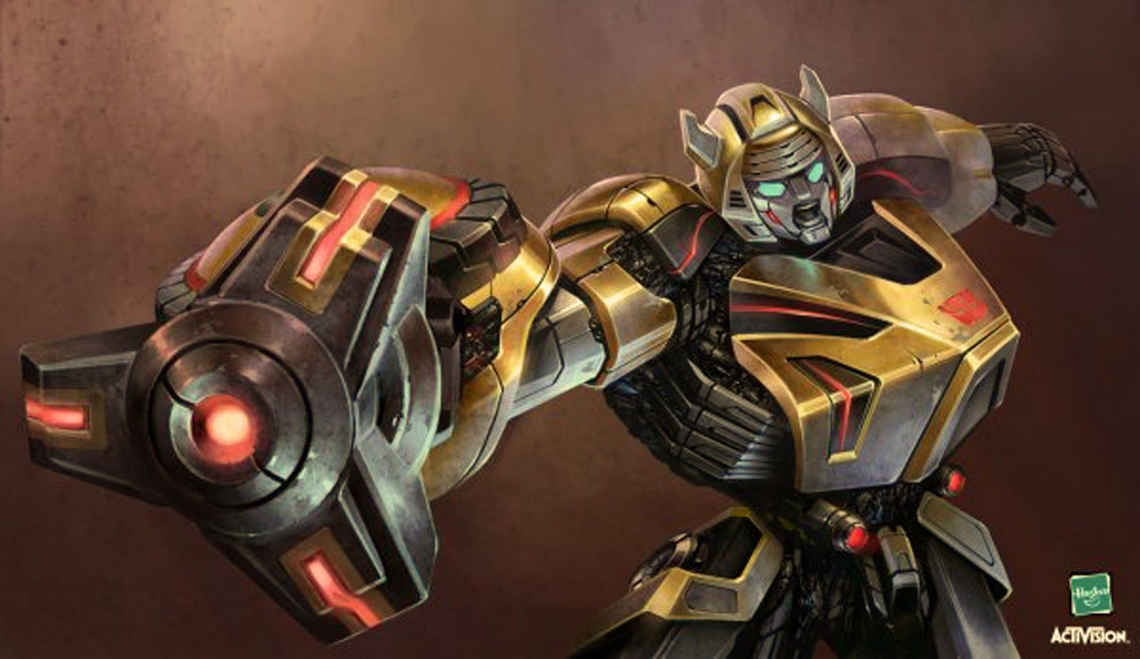 Bee War For Cybertron Transformers Character Illustration
