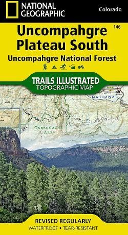Trails Illustrated Uncompahgre Plateau South Topographic Map National Geographic Maps Topographic Map National Geographic