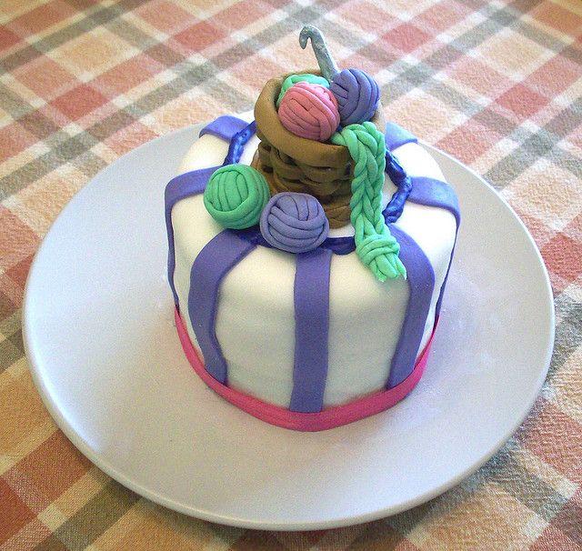 Nans Birthday MiniCake Cakes desserts Pinterest Mini cakes