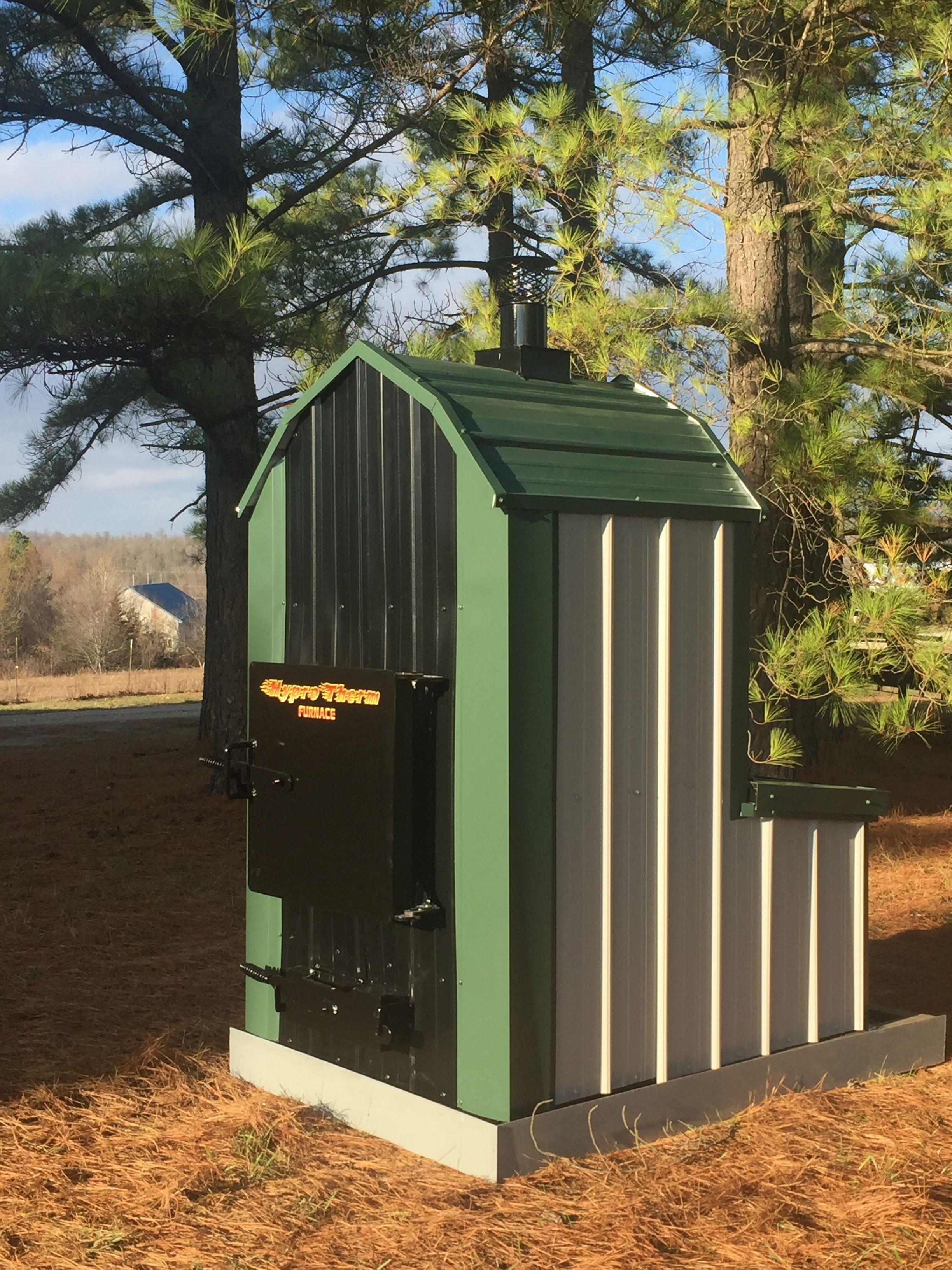 Waterless ForcedAir Wood Furnace Outdoor wood furnace