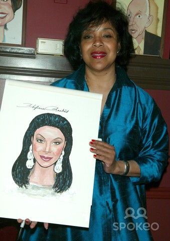 "Phylicia Rashad - The stars of ""Cat On a Hot Tin Roof"" are honored with caricatures at Sardi's in Times Square. New York City, USA 08.05.08"