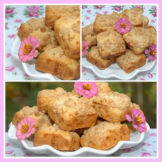 Pink Piccadilly Pastries: Toffee Crumble Scones