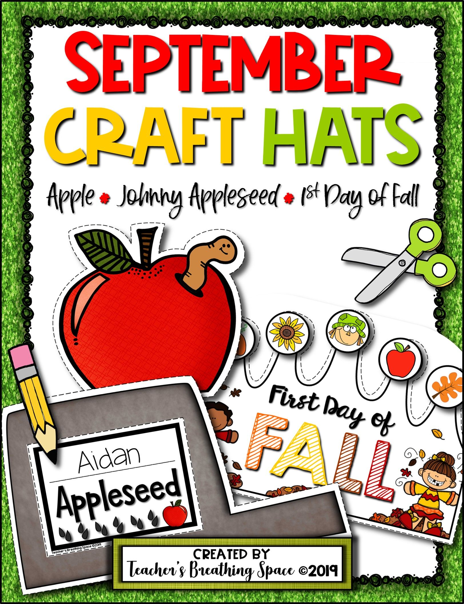 September Craft Hats