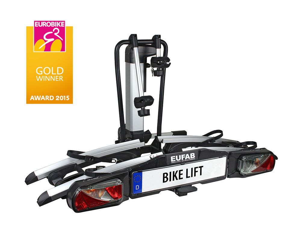 Eufab Fahrradtrager Bike Lift Hecktrager 2 Fahrrader Auf