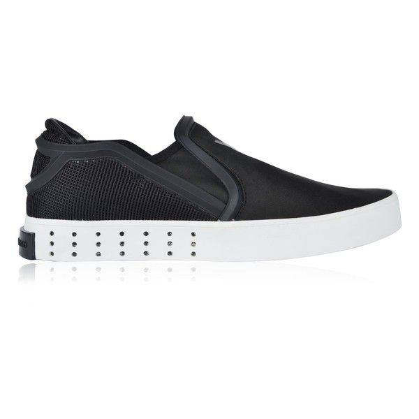 timeless design 3fd79 3a69d Y3 Mesh Slip On Trainers ( 285) ❤ liked on Polyvore featuring mens, men s  shoes and men s sneakers